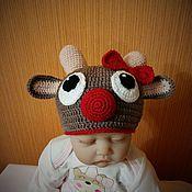 Работы для детей, handmade. Livemaster - original item Cap photo shoot. Handmade.