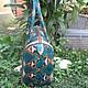 Женские сумки ручной работы. Сумка Ariel. Paradise Bali. Интернет-магазин Ярмарка Мастеров. Орнамент, сумка из натуральной кожи