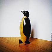 Мягкие игрушки ручной работы. Ярмарка Мастеров - ручная работа Пингвин. Handmade.