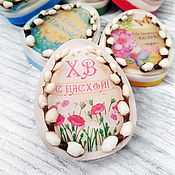 handmade. Livemaster - original item Soap egg and willow with a picture buy gifts for Easter Moscow to order. Handmade.