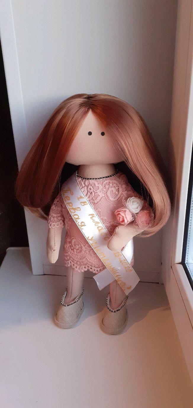 Кукла-первая учительница, Портретная кукла, Новосибирск,  Фото №1