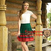 Одежда handmade. Livemaster - original item Skirt Slavic