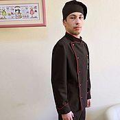 Одежда ручной работы. Ярмарка Мастеров - ручная работа Поварской костюм.. Handmade.