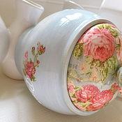 Для дома и интерьера handmade. Livemaster - original item Pot Provence. Handmade.