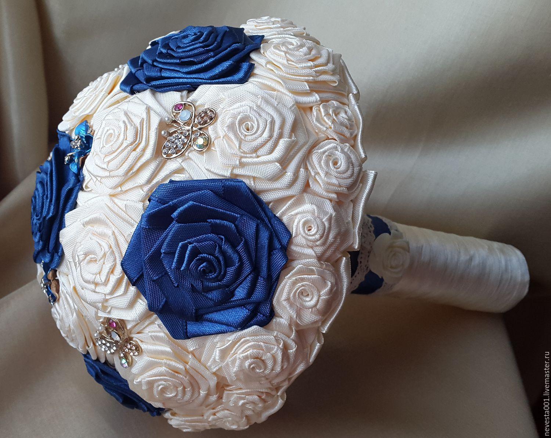 Свадебные цветы ручной работы. Ярмарка Мастеров - ручная работа. Купить Букет-Брошь. Handmade. Свадьба, свадебные аксессуары