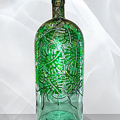 Посуда ручной работы. Ярмарка Мастеров - ручная работа Бутыль Монстера, винтажная, 3 литра. Handmade.