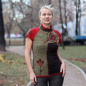 Одежда ручной работы. Ярмарка Мастеров - ручная работа Московская осень.. Handmade.