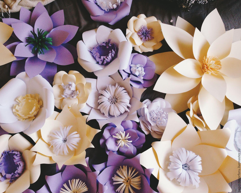 Цветы из бумаги – купить в интернет-магазине на Ярмарке ...