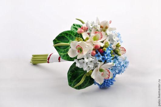 Свадебные цветы ручной работы. Ярмарка Мастеров - ручная работа. Купить Свадебный букет невесты Тропическая фантазия. Handmade. тропический
