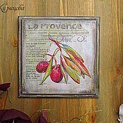 """Картины и панно ручной работы. Ярмарка Мастеров - ручная работа Панно """"La Provence"""". Handmade."""