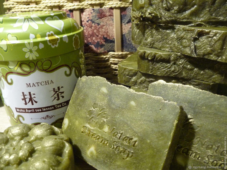 Зеленый чай МATCHА Мыло LUX/ Эгоистка – купить на Ярмарке Мастеров – 96X6TRU | Мыло, Санкт-Петербург
