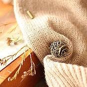 """Украшения ручной работы. Ярмарка Мастеров - ручная работа Брошь-игла """"Сухой мак"""". Handmade."""