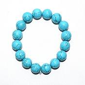 Украшения handmade. Livemaster - original item Natural Arizona turquoise bracelet. Handmade.