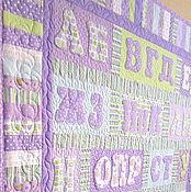 """Одеяла ручной работы. Ярмарка Мастеров - ручная работа Детское одеяло """"Алфавит"""". Handmade."""