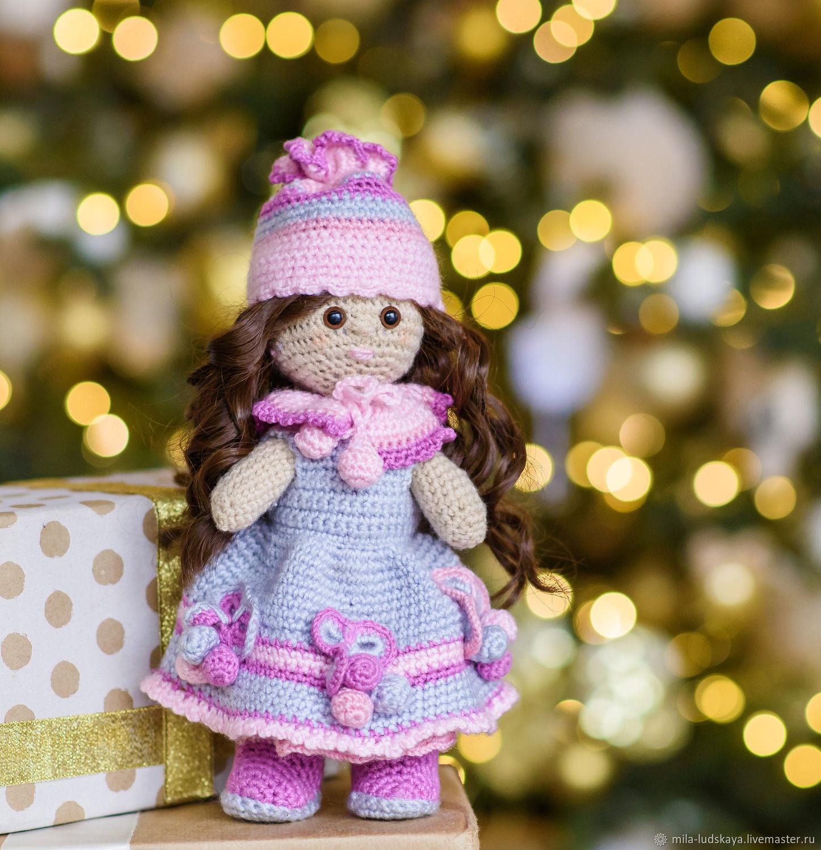 """Кукла """"Николь"""" (вязанная игрушка), Мягкие игрушки, Челябинск,  Фото №1"""