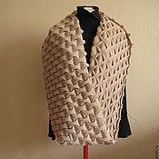 Аксессуары ручной работы. Ярмарка Мастеров - ручная работа снуд в технике клоке. Handmade.