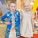 Одежда для девочек, ручной работы. Заказать Детское летнее пальто. San Sarafan. Ярмарка Мастеров. Оригинальный, нарядное платье, нарядный