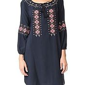 Одежда handmade. Livemaster - original item Women`s embroidered dress ЖП1-86. Handmade.
