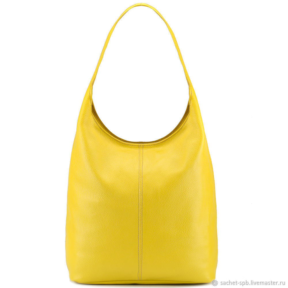 Womens leather bag 'Vintage New' (yellow), Backpacks, St. Petersburg,  Фото №1