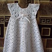 Работы для детей, ручной работы. Ярмарка Мастеров - ручная работа Платье для крещения. Handmade.