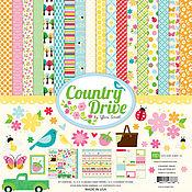 """В наличии! Набор бумаги """"Country Drive Collection Kit"""" от Echo Park"""