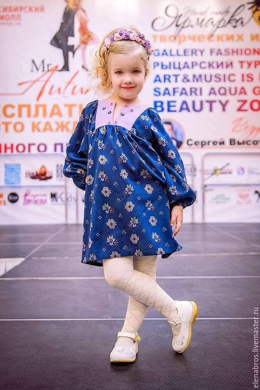 Платье-туника в стиле `бохо-шик`