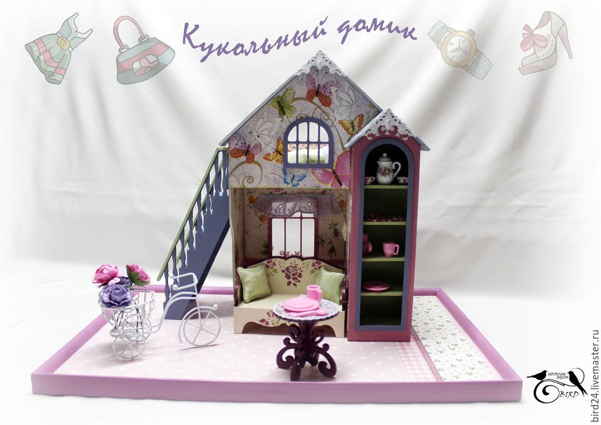 Кроватка своими руками в кукольный домик