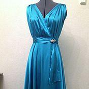 Одежда ручной работы. Ярмарка Мастеров - ручная работа Вечернее платье в пол. Handmade.
