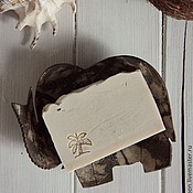 """Косметика ручной работы. Ярмарка Мастеров - ручная работа Мыло с нуля """"Кокос"""" натуральное. Handmade."""