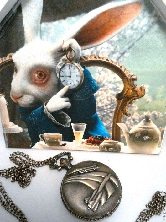 """Часы ручной работы. Ярмарка Мастеров - ручная работа. Купить Часы карманные """"Летчику"""". Handmade. Часы, винтаж, классика"""