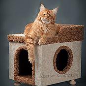 Для домашних животных, handmade. Livemaster - original item A house on legs for the dog or cat to buy.Available in size. Handmade.