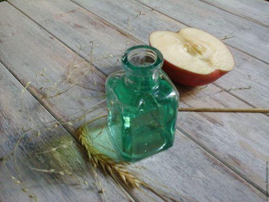 """Шампунь ручной работы. Ярмарка Мастеров - ручная работа. Купить шампунь на мягких павах """"Яблоко и олива"""" для нормальных и сухих волос. Handmade."""