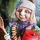 Человечки ручной работы. Ярмарка Мастеров - ручная работа. Купить Домовой  Егорка. Handmade. Куклы и игрушки, авторская работа, Сказки