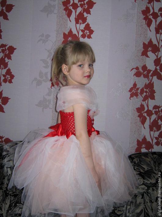 Платье `Маруся` воздушное.