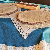 Для дома и интерьера ручной работы. Ярмарка Мастеров - ручная работа Скатерти из 100% льна на заказ. Handmade.