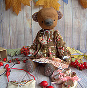 Куклы и игрушки ручной работы. Ярмарка Мастеров - ручная работа Рябинка. Handmade.