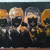 Картины и панно ручной работы. Ярмарка Мастеров - ручная работа The Beatles. Handmade.