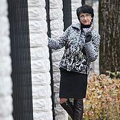 """Одежда ручной работы. Ярмарка Мастеров - ручная работа Курточка """"Шикарная"""" Курточная ткань. Handmade."""