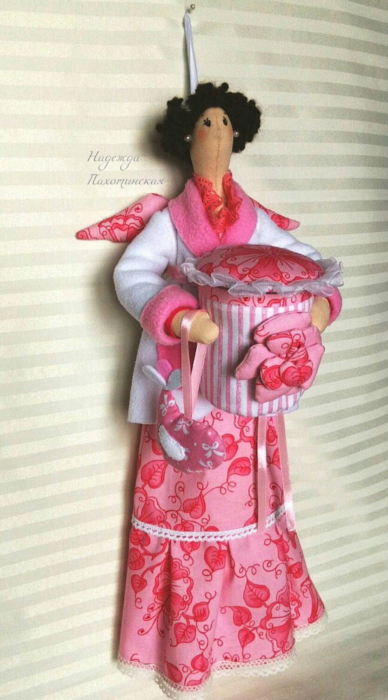 Тильда банная феечка - Розочка, Куклы Тильда, Долгопрудный,  Фото №1