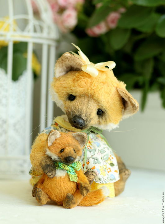 Куклы и игрушки ручной работы. Ярмарка Мастеров - ручная работа. Купить МК по созданию Лисенка. Handmade. Оранжевый, сшей сам