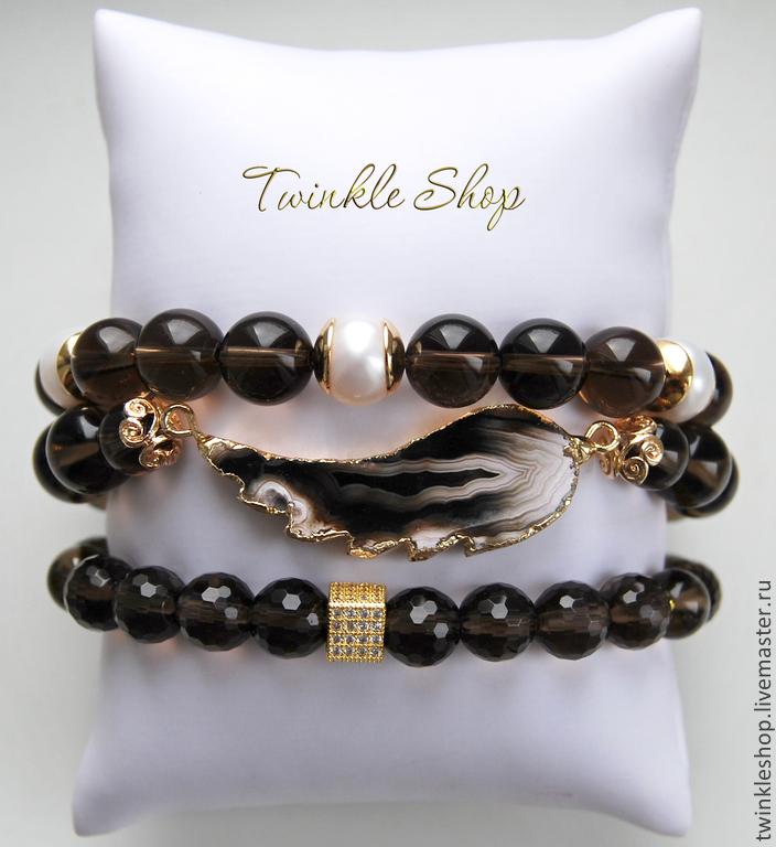 A set of jewelry 'Angel wing', Bracelet set, Moscow,  Фото №1