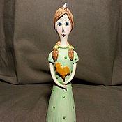 """Куклы и игрушки ручной работы. Ярмарка Мастеров - ручная работа Кукла-колокольчик """"Маленькая девочка"""". Handmade."""