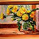 """Картины цветов ручной работы. Ярмарка Мастеров - ручная работа. Купить """"Незатейливое изящество"""". Handmade. Картина маслом, картина, Живопись"""