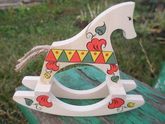 Игрушки животные, ручной работы. Ярмарка Мастеров - ручная работа. Купить лошадка-качалка 3. Handmade. Лошадка, качалка, лак