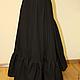Нижняя хлопковая историческая юбка