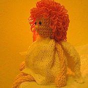 Куклы и игрушки ручной работы. Ярмарка Мастеров - ручная работа Ангел с гранатовыми глазками. Handmade.