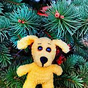 Куклы и игрушки ручной работы. Ярмарка Мастеров - ручная работа Собака крючком. Handmade.