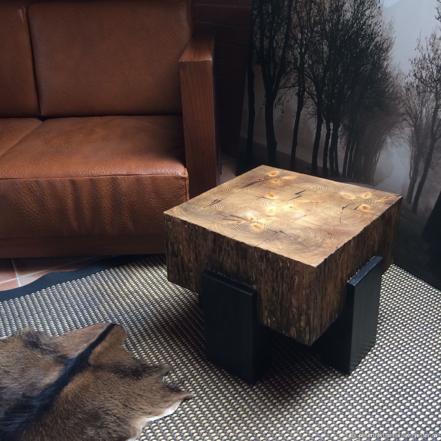 Solid wood coffee table, Tables, Moscow,  Фото №1