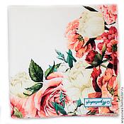 Для дома и интерьера ручной работы. Ярмарка Мастеров - ручная работа Салфетка Розы. Handmade.