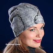 Аксессуары handmade. Livemaster - original item The hat felted.female.transformer. Handmade.